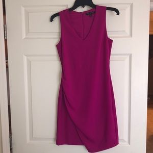 Magenta banana republic factory dress size 0
